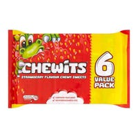 Chewits Strawberry 6 Pack