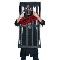 Halloween Children's Costume Caged Reaper 8-10 Years
