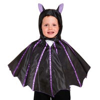 Bat Cape and Hood for Toddlers