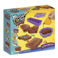Chocograms Chocolate Text Moulds Set