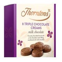 Thornton's Triple Creams 128g