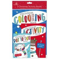 Christmas Multi Activity Books 3 Pack
