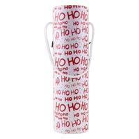 Christmas Bottle Holder Ho Ho Ho