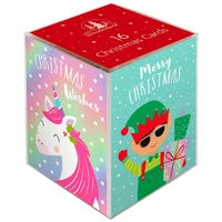 Christmas Cards with Magical Characters 16 Pack
