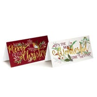 Tom Smith Luxury Christmas Cards 20 Pack