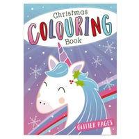Christmas Colouring Book in Unicorn Design
