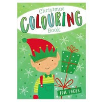 Christmas Colouring Book in Elf Design