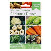 Speedy Seeds 6 in 1 Christmas Dinner Seed Collection