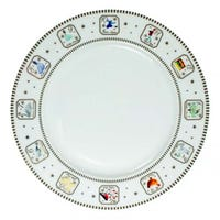 12 Days of Christmas Dinner Plate 10.5in