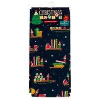 Christmas Elf and Mulled Wine Tea Towel