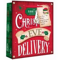 Personalised Christmas Eve Gift Bag