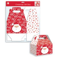 Christmas Santa Folding Box in Small