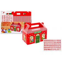 Christmas Toy Shop Gift Box with Handle