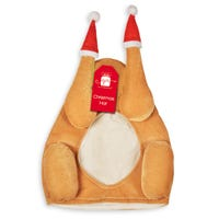 Christmas Turkey Santa Hat