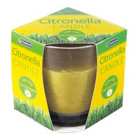 Citronella Outdoor Candle Yellow