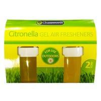 Citronella Gel Air Fresheners 2 Pack