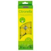 Citronella Tea Lights 12 Pack