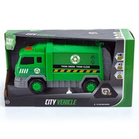 Speed Hub Recycling City Vehicle with Lights and Sounds