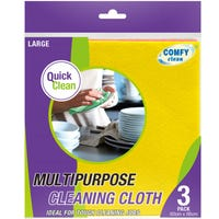 Multipurpose Cleaning Cloths 3 Pack