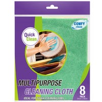 Multipurpose Cleaning Cloths 8 Pack
