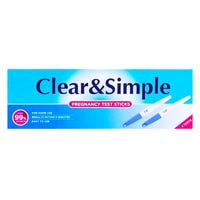 Clear & Simple Pregnancy Test Twin Pack