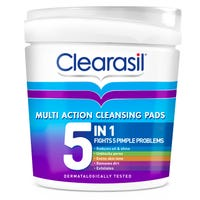 Clearasil 5 in 1 Cleansing Pads 65 Pack