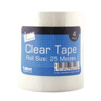Clear Tape 4 Rolls