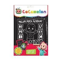 CoComelon Scratch Art Set