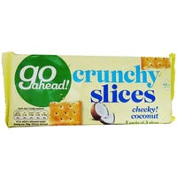 Go Ahead Crunchy Slices  Coconut 5 Pack