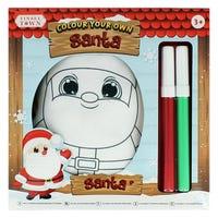 Colour Your Own Plush Santa