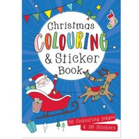 Christmas Colouring and Sticker Book