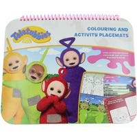 Teletubbies Colouring Placemats