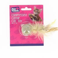 Pet Touch Compressed Catnip Cat Toy Assorted