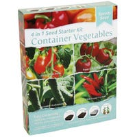 Container Vegetables 4 In 1 Seed Starter Kit
