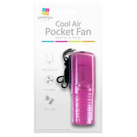 Pocket Fan With Carry Cover in Pink