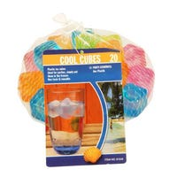 Cool Cubes Ice Cube Squares 20 Pack