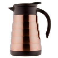 Pioneer Vacuum Serving Jug in Copper Brown 0.8L