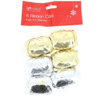 Christmas Ribbon Cops 6 Pack
