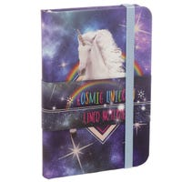 Cosmic Unicorn Hardback Lined Notebook