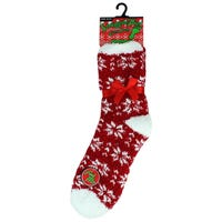 Cosy Socks in Snowflakes Design