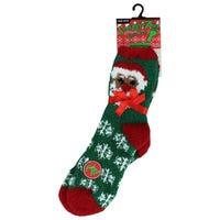Cosy Socks in Santa Design
