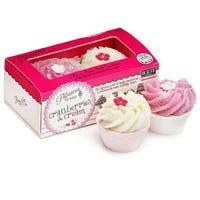 Patisserie De Bain Cranberries and Cream Bath Tartlettes