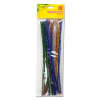 Crayola Assorted Tinsel Stems 30 Packs