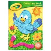Crayola Colouring Book Bird