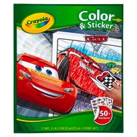 Crayola Cars 3 Colour and Sticker Activity Book