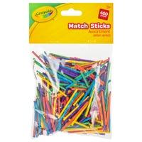 Crayola Colour Match Sticks 400 Packs