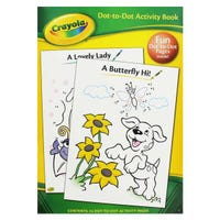 Crayola Dot To Dot Activity Book