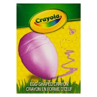 Crayola Egg Shaped Crayon in Purple