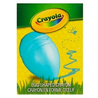 Crayola Egg Shaped Crayon in Blue