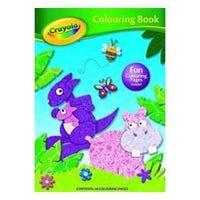 Crayola Colouring Book Hippo